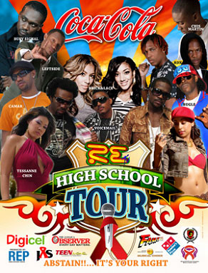 RE TV High School Tour 2007