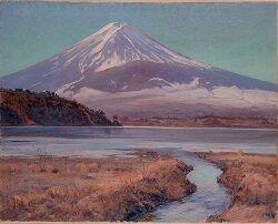 ⑧1918和田英作「富士」