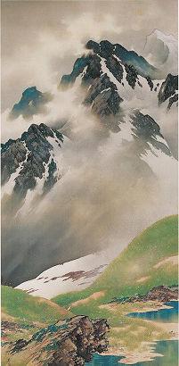 高嶽爽気図(1930)