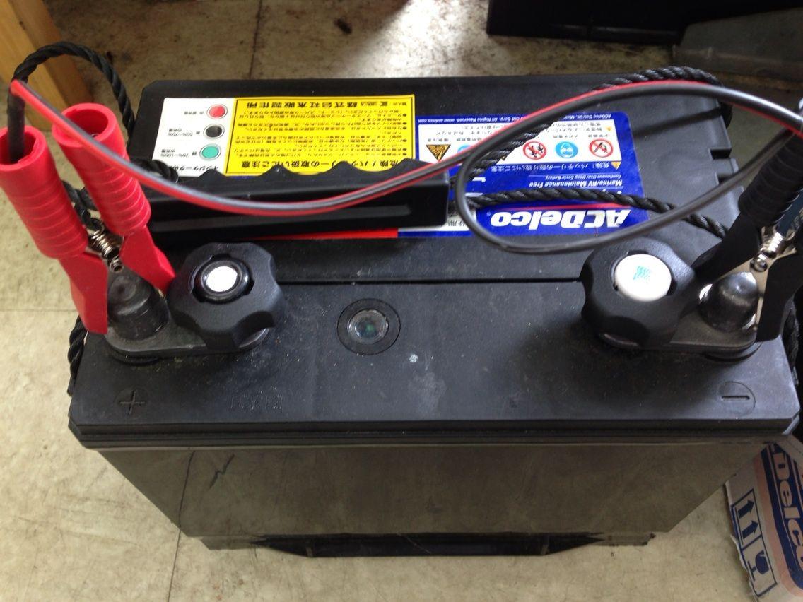 ROCKET Blog : バッテリー充電するときに