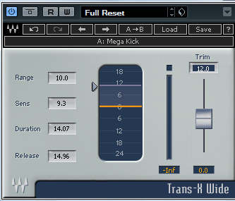 Waves Trans-X Wide