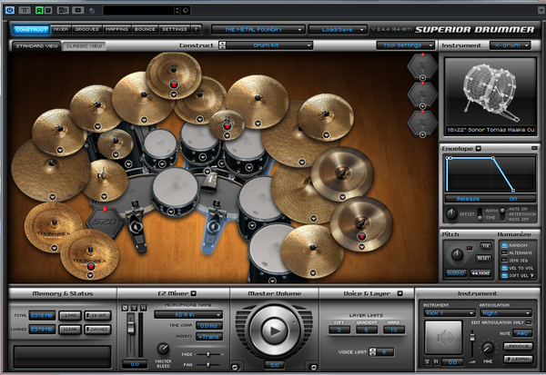 Superiror Drummer 「metal foundry + Metal Machinery」