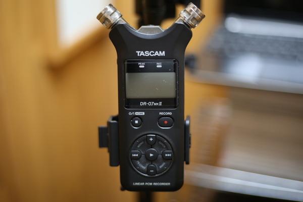 TASCAM リニアPCMレコーダー DR-07MK2