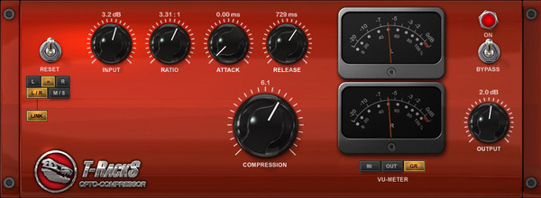 T-RackS CS Opto Compressor