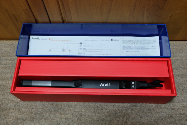 ヘアアイロン「Areti-i628BK」 (3)