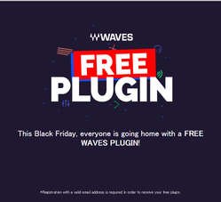 Waves Black Friday 2015_Free Plugin