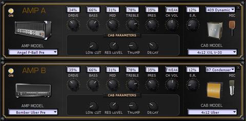 POD HD 音作り1 アンプ