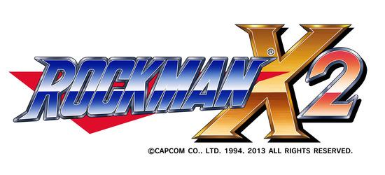 ROCKMAN-X2ロゴ
