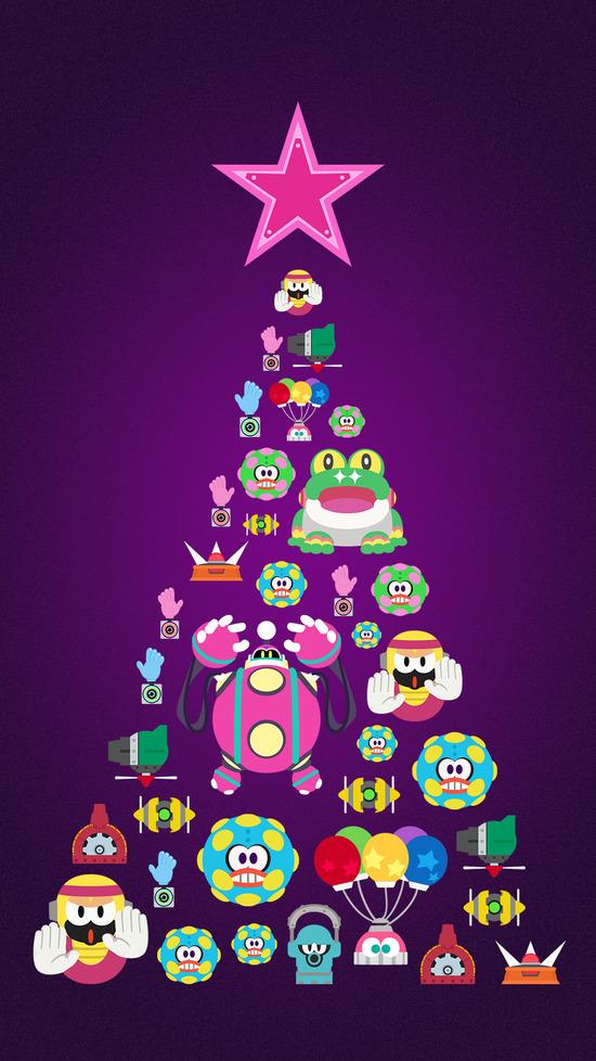 クリスマス_ツリー_タテ_ラバー