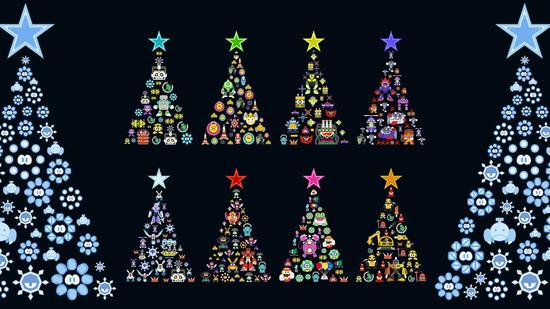 クリスマス_ツリー_PC用