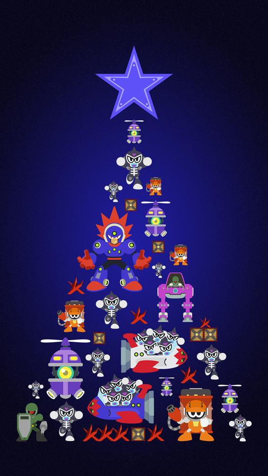 クリスマス_ツリー_タテ_ブラスト