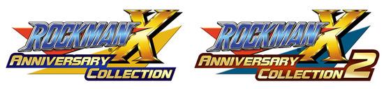 【1-2ロゴ】ROCKMAN X ANNIVERSARY COLLECTION 1 logo0728