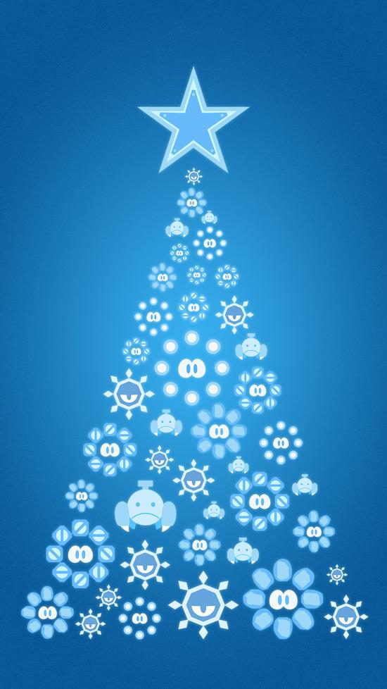 クリスマス_ツリー_タテ_白