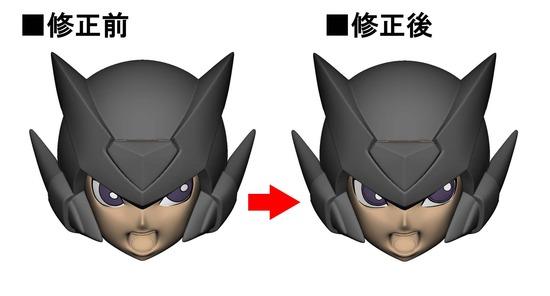 【比較】ロックマンゼロ_叫び顔_デカール用