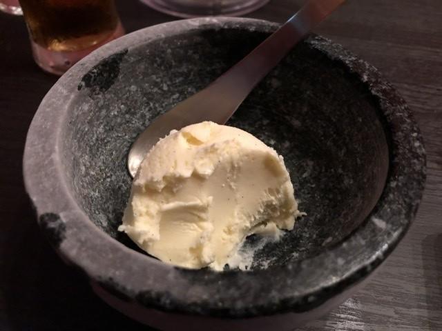 アイスは最後まで溶けませんでした