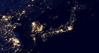 宇宙からみた日本thFRQXKY1U