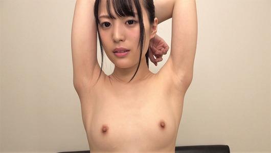 上川星空の微乳と腋