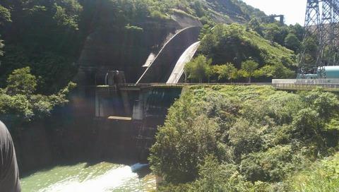 合宿 ダム