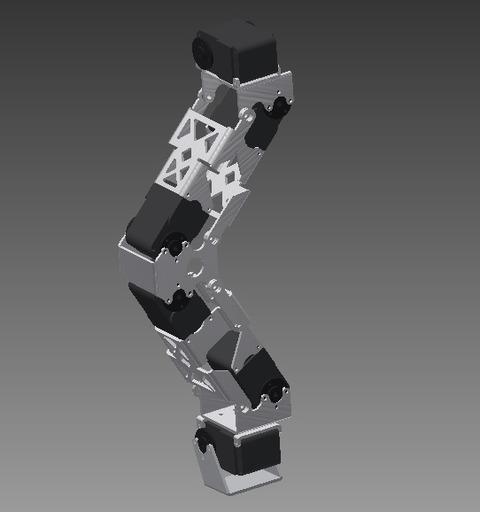 二足脚CAD
