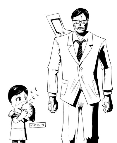 デズモンド&カロンちゃん