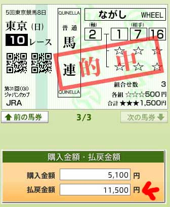 ジャパンC4 (2)