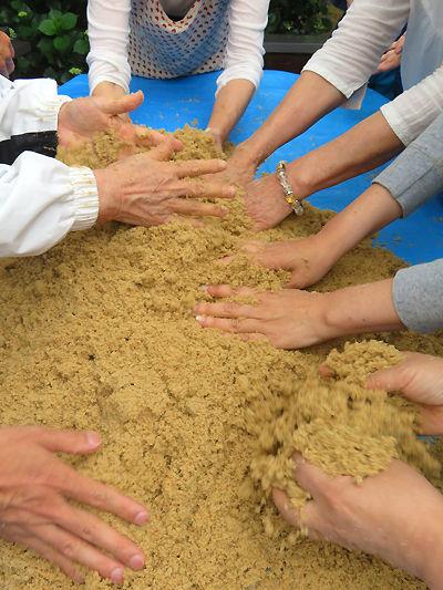 ボカシ作り(竹粉編)2