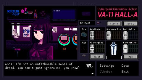 VA-11 HALL-A ヴァルハラ