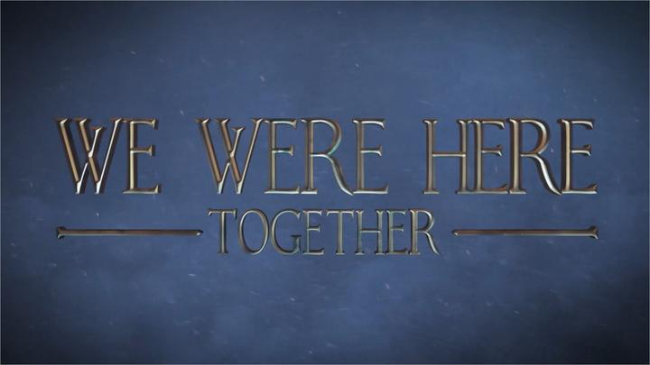 We Were Here タイトル