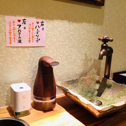 soap mist toilet