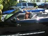 ハワイでオープンカー
