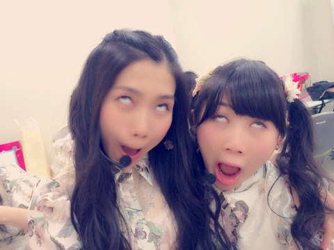 【AKB48】田野優花と西野未姫の真顔をオチに持ってくる独自のスタイル