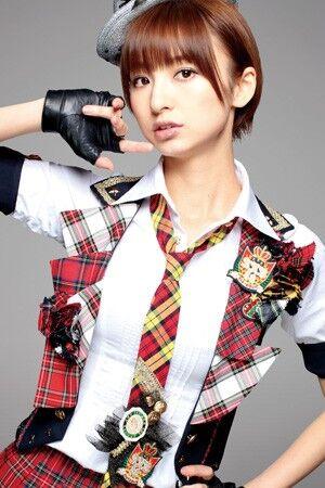 今のAKBには篠田麻里子のような背の高いモデル型のメンバーが必要だと思う