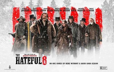 hateful eight quad poster