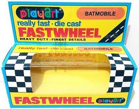 Repro-PLAYART-FASTWHEEL-Window-BOX-for-1966-Batman