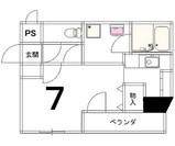 メゾン京都堀川WEST図面3号室