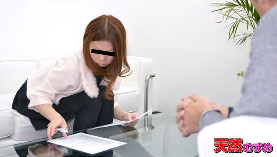 素人AV面接 ~面談からいきなりアナル開発~