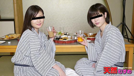 新入社員歓迎会3P ~浴衣でレズプレイ~