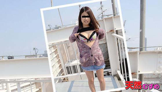 ビルの屋上をオマンコほり出して回遊しました