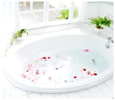 花びら浴槽