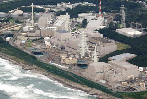 静岡県の浜岡原子力発電所