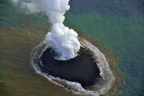 西之島噴火