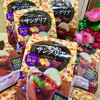 日東紅茶 フルーツ薫るサングリア (9)