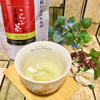 玉露園「お徳用こんぶ茶」 (4)