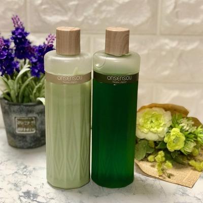 ONSENSOU温泉藻配合頭皮ケアシャンプー&トリートメント (1)