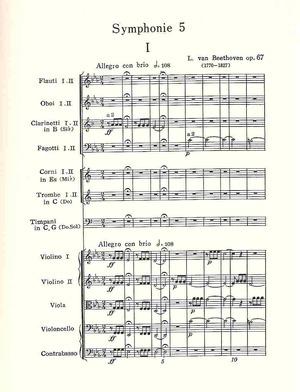 BeethovenSym5-1Score