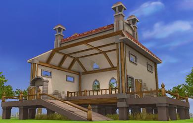 石の家01