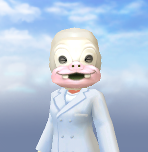 +白塗り仮面