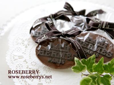 HERMESのチョコレート♪