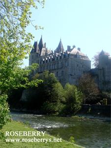 川沿いのお城♪