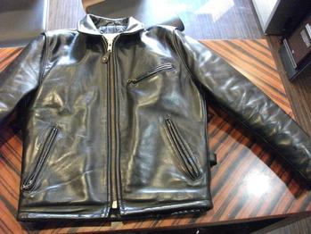 レザージャケット 『身幅~AH~袖幅つめ、ファスナー替え』